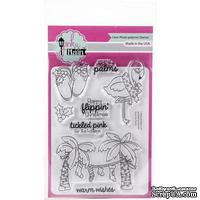 Набор штампов Pink and Main Clear Stamps 10*15 см -  Deck The Palms