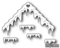 Нож для вырубки от Poppystamps - Frosted Roofs and Ledges
