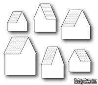 Нож для вырубки от Poppystamps - Alpine House Roofs and Background