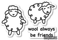 Штампы от Poppystamps - Wool Be Friends clear stamp set - ScrapUA.com