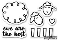 Штампы от Poppystamps - Ewe Are the Best clear stamp set