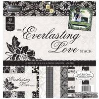 Набор бумаги DCWV - Everlasting Love, 30х30 см, 24 листа