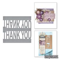 Ножи от Spellbinders – Thank You Pop-Up Celebrate The Day By Marisa Job Etched Dies