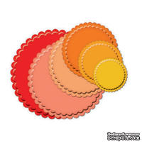 Набор лезвий Spellbinders  - Petite Scallop Circle Large