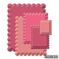 Лезвия от Spellbinders - Classic Scalloped Rectangles LG
