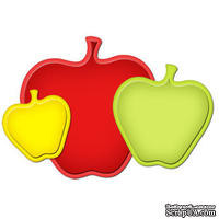 Лезвия от Spellbinders - Nested Apple, 3 шт