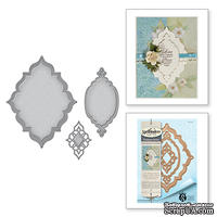 Нож для вырубки от Spellbinders - Stacey Caron - Renaissance Jubilee - Label 56 Decorative Element
