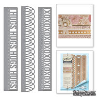 Ножи от Spellbinders – Graceful Sweet Words Card Creator Amazing Paper Grace By Becca Feeken Etched Dies