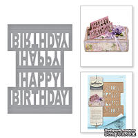 Ножи от Spellbinders - Happy Birthday Pop-Up