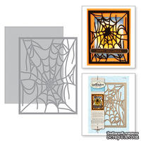 Ножи от Spellbinders - Spider Web Card Front
