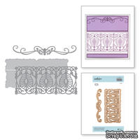Ножи для вырубки от Spellbinders - Shapeabilities Delicate Tendril Border Etched Dies Vintage Treasures by Becca Feeken - ScrapUA.com
