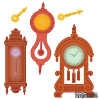 Набор лезвий Spellbinders  - Retro Mod Clocks