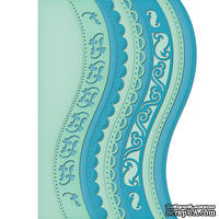 Лезвие Spellbinders -  Borderabilities - A2 Curved Borders One, 6 шт.