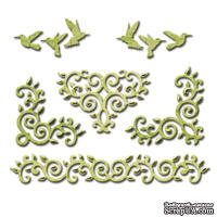 Нож для вырубки от Spellbinders - Draping Vines Elements
