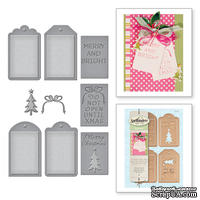 Ножи от Spellbinders - Christmas Tag Set