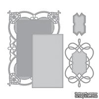 Ножи от Spellbinders - Coralene's Chemise Layering Frame Large