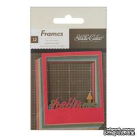 Высечки Studio Calico - Yearbook Die-Cut Polaroid Frames