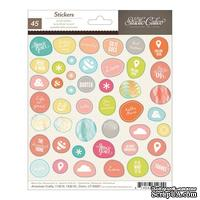 Набор наклеек Studio Calico - Sundrifter Cardstock Stickers - Accent