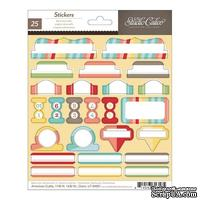 Набор наклеек Studio Calico - Snippets Stickers - Cardstock Decorative Tabs