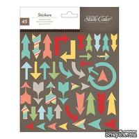 Набор наклеек из чипборда Studio Calico - Snippets Stickers - Chipboard Arrows