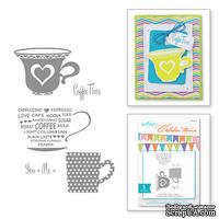 Набор штампов от Spellbinders - Celebrations Cup For Two Stamps