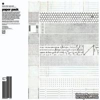 "Набор бумаги от Basic Grey ""Basic White - Paper Pack"" - ScrapUA.com"