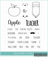 Штампы от Studio Katia - Teacher's Apple, STKS002