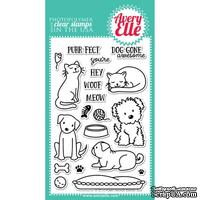 Акриловый штамп Avery Elle - Furry Friends Clear Stamps