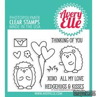 Акриловый штамп Avery Elle - Hedgehugs Clear Stamps