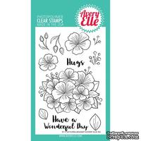 Акриловый штамп Avery Elle - Floral Bouquet Clear Stamps