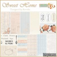 Набор скрапбумаги Studio75 - Sweet home paper collection, 30х30 см