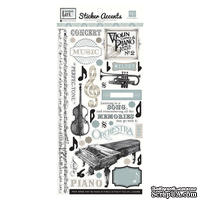 Наклейки от Echo Park - Melody of Life Collection - Cardstock Stickers, 15х30 см