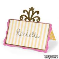 Лезвие Sizzix Bigz Die - Place Card w/Decorative Accent #2