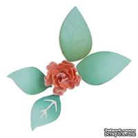 Ножи от Sizzix - Sizzix Sizzlits Die - Flower, Bloom w/Leaves 3-D