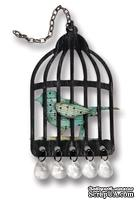 Набор лезвий от Sizzix - Tim Holtz Alterations Sizzix Alterations - Caged Bird Bigz Die