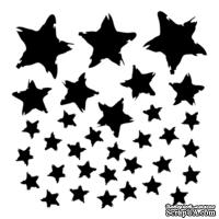 Маска The Crafter's Workshop - Mini Template Star Fall, 15х15 см