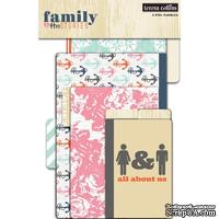 Мини-папки Teresa Collins Designs - Family Stories - File Folders