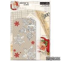Конверты-пакетики Teresa Collins Designs - Santa's List - Treat Bags