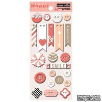 Пуговицы Teresa Collins Designs - You Are My Happy - Chipboard Buttons