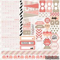 Набор наклеек Teresa Collins Designs - You Are My Happy - Stickers
