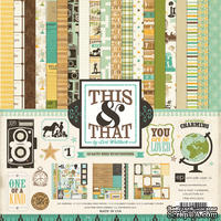 Набор бумаги от Echo Park Paper Co - This & That Charming Collection Kit, 30х30