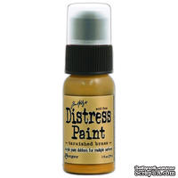 Краска Ranger - Tim Holtz - Distress Paint - Metallic - Tarnished Brass