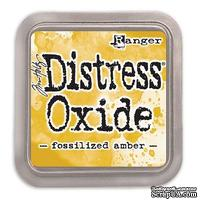 Оксидные чернила Ranger - Tim Holtz - Distress Oxides - Fossilized Amber