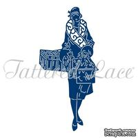 Лезвие Tattered Lace Dies - Art Deco Cold Winter Walk