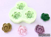 Молд от Wow -  Shabby Rose - Silicone Mould