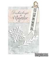 Лезвия от Magnolia Doohickeys - Cozy Fern and Snowflake
