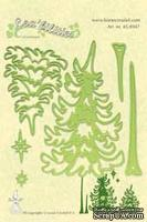 Лезвия от LeaCreaDesign - Pine tree cut &  embossing die