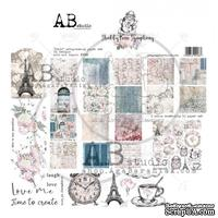 "Набор бумаги от ABstudio - ""Shabby love symphony""- scrapbooking paper set 8x 30х30см + bonus"