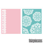Папка для тиснения от We R Memory Keepers - Embossing Folder - Doily - CRAFTS TOOLS - ScrapUA.com