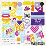 Лист высечек от Lemon Owl - Plans for Today, Die Cuts #02 - ScrapUA.com